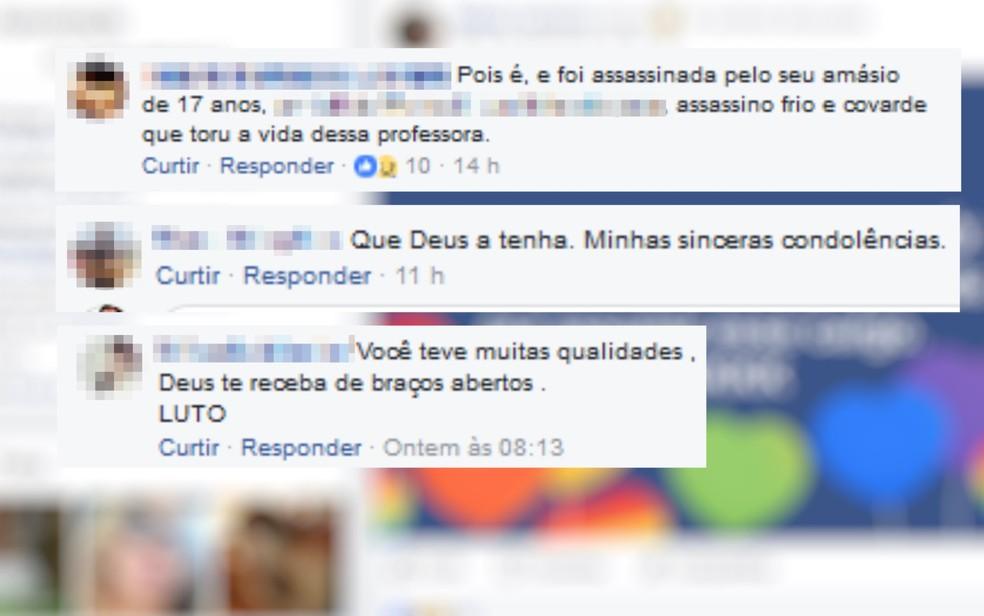 Amigos fizeram homenagens na página de Sidney na internet (Foto: Facebook/Reprodução)