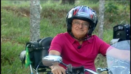 Quadro 'Além dos 60' aborda histórias de motoristas idosos em Araxá