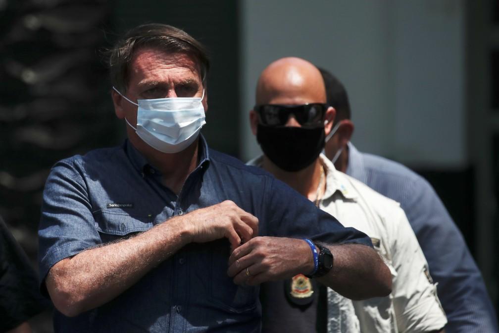 Jair Bolsonaro — Foto: REUTERS/Ricardo Moraes