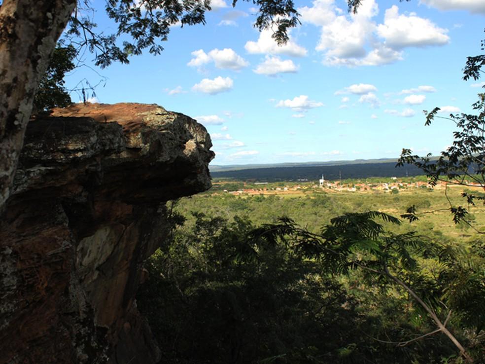 Morro do Garrote, local onde as meninas foram violentadas — Foto: Patrícia Andrade/G1