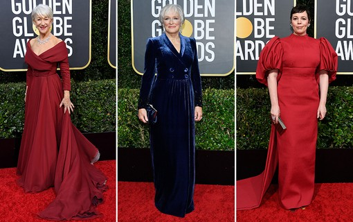 Helen Mirren, Glenn Close, Olivia Colman