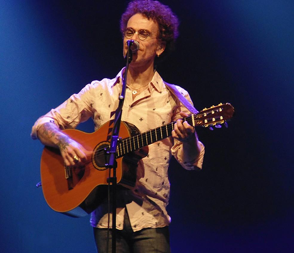 Nando Reis canta 26 músicas no show 'Esse amor sem preconceito' — Foto: Mauro Ferreira / G1