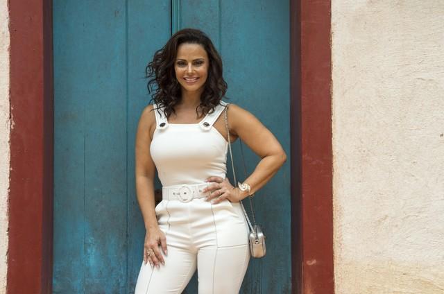 Viviane Araujo (Foto: Rede Globo / Estevam Avellar)