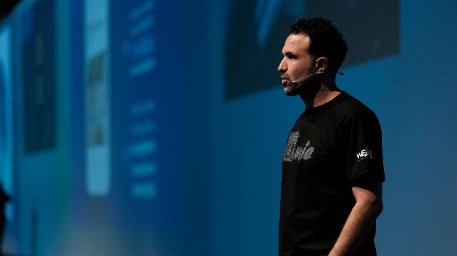 Frederico Braga, CTO da Omie durante evento We Are Omie em São Paulo (Foto: Divulgação)