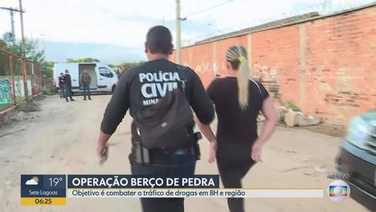 Suspeitos são presos durante operação da Polícia Civil na Grande BH
