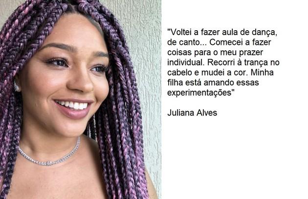 Juliana Alves voltou a cantar, dançar e mudou o cabelo (Foto: Reprodução)