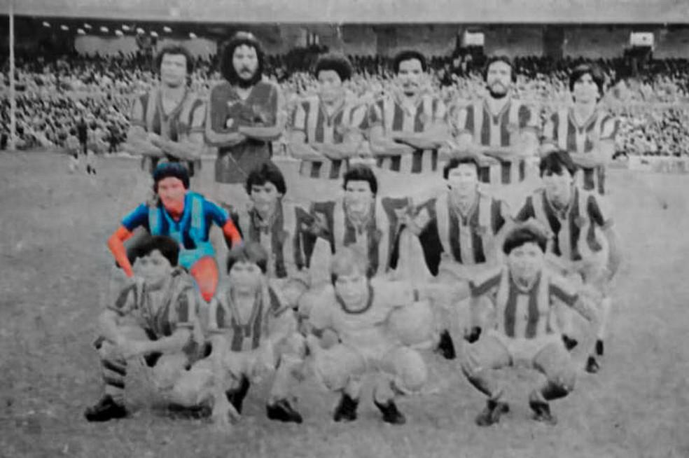 Evandro fez parte de grandes equipes formadas pelo Paysandu — Foto: Reprodução/Site oficial do Paysandu