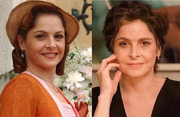 """Drica Moraes foi a manicure Márcia. Fofoqueira e deslumbrada, ela queria subir na vida. A atriz está no elenco de """"Sob pressão"""" (Foto: Reprodução)"""