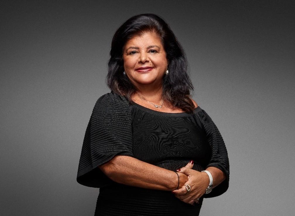 Luiza Helena Trajano, presidente do conselho de administração do Magazine Luiza — Foto: Divulgação