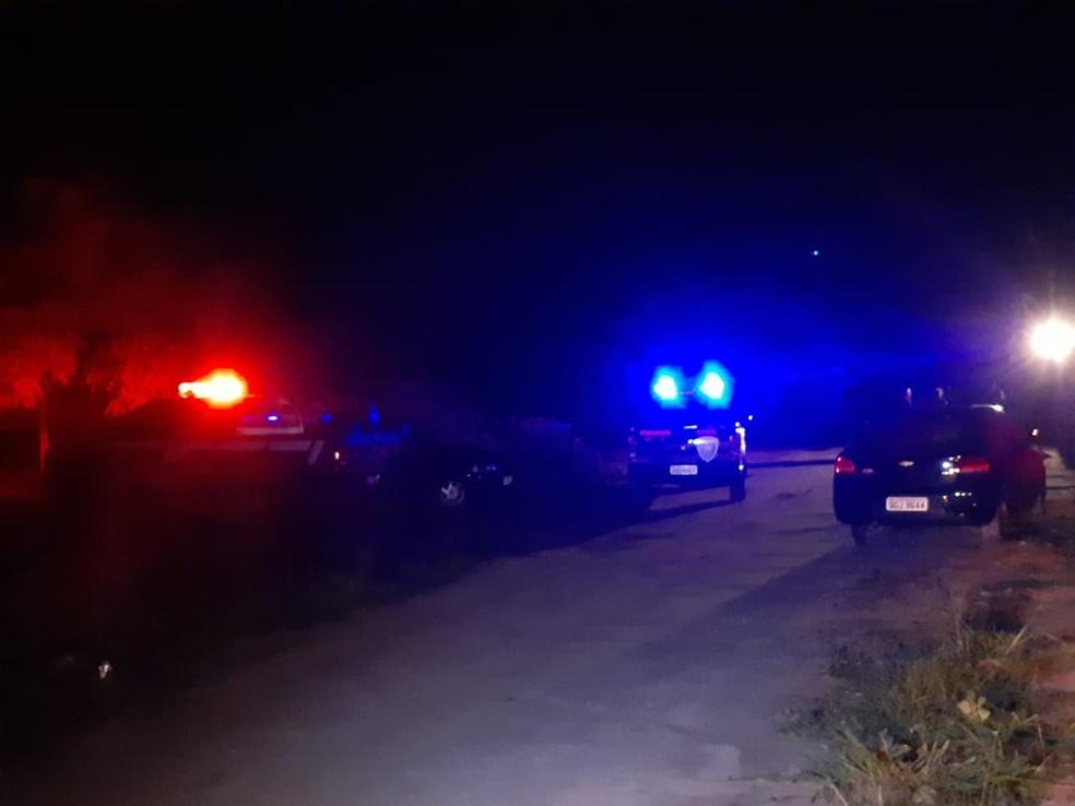 Homicídio está sob investigação da Polícia Civil — Foto: Sérgio Henrique Santos/Inter TV Cabugi