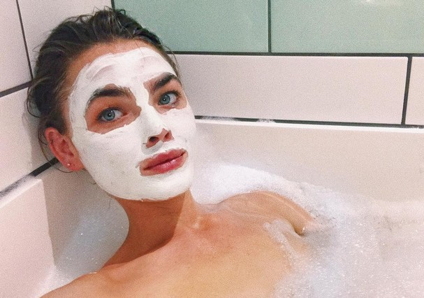 Máscara facial (Foto: Instagram/Reprodução)
