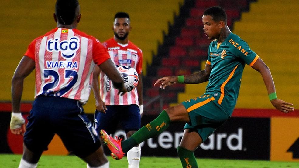 Caio Paulista foi a única alteração que entrou bem no jogo — Foto: Mailson Santana / Fluminense FC