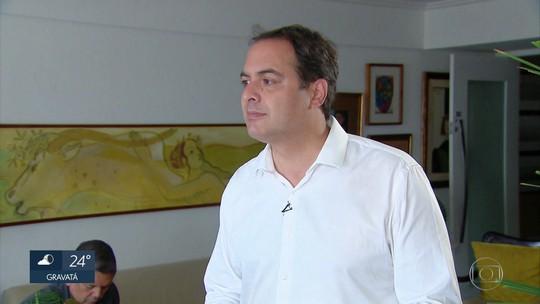 Paulo Câmara promete concluir obras e diz que aliados vão precisar se adequar a modelo de gestão