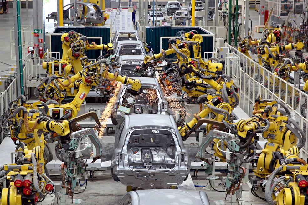 Fábrica da Nissan em Resende (RJ) — Foto: Divulgação