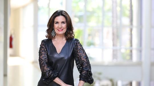 Fátima Bernardes diz o que aprendeu com Faustão: 'Inspiração'