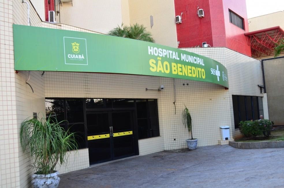 Sindicato cobra processo seletivo no Hospital São Benedito, em Cuiabá — Foto: Davi Valle/Secom-Cuiabá