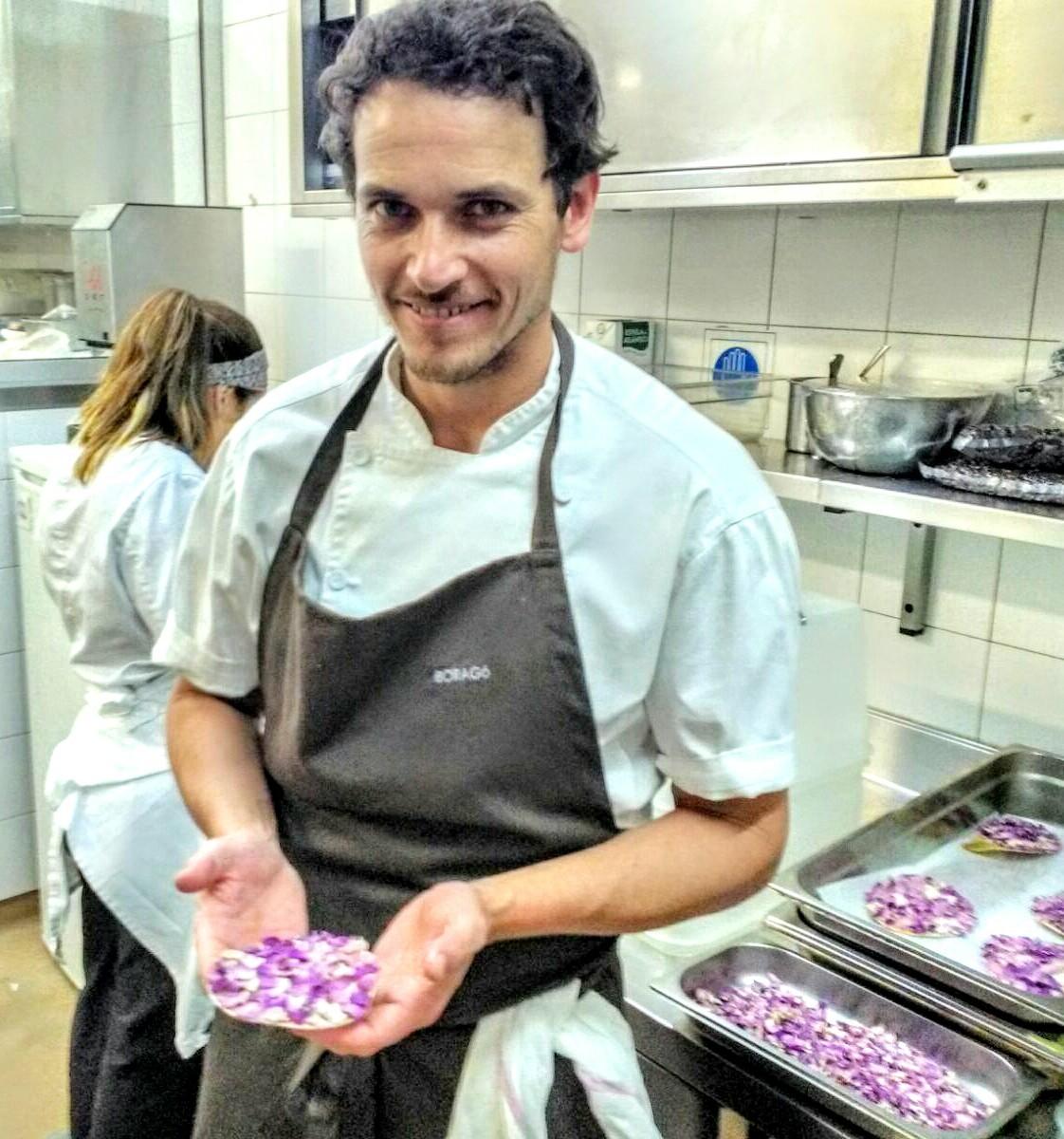 O chileno Rodolfo Guzmán, chef do Boragó, de Santiago