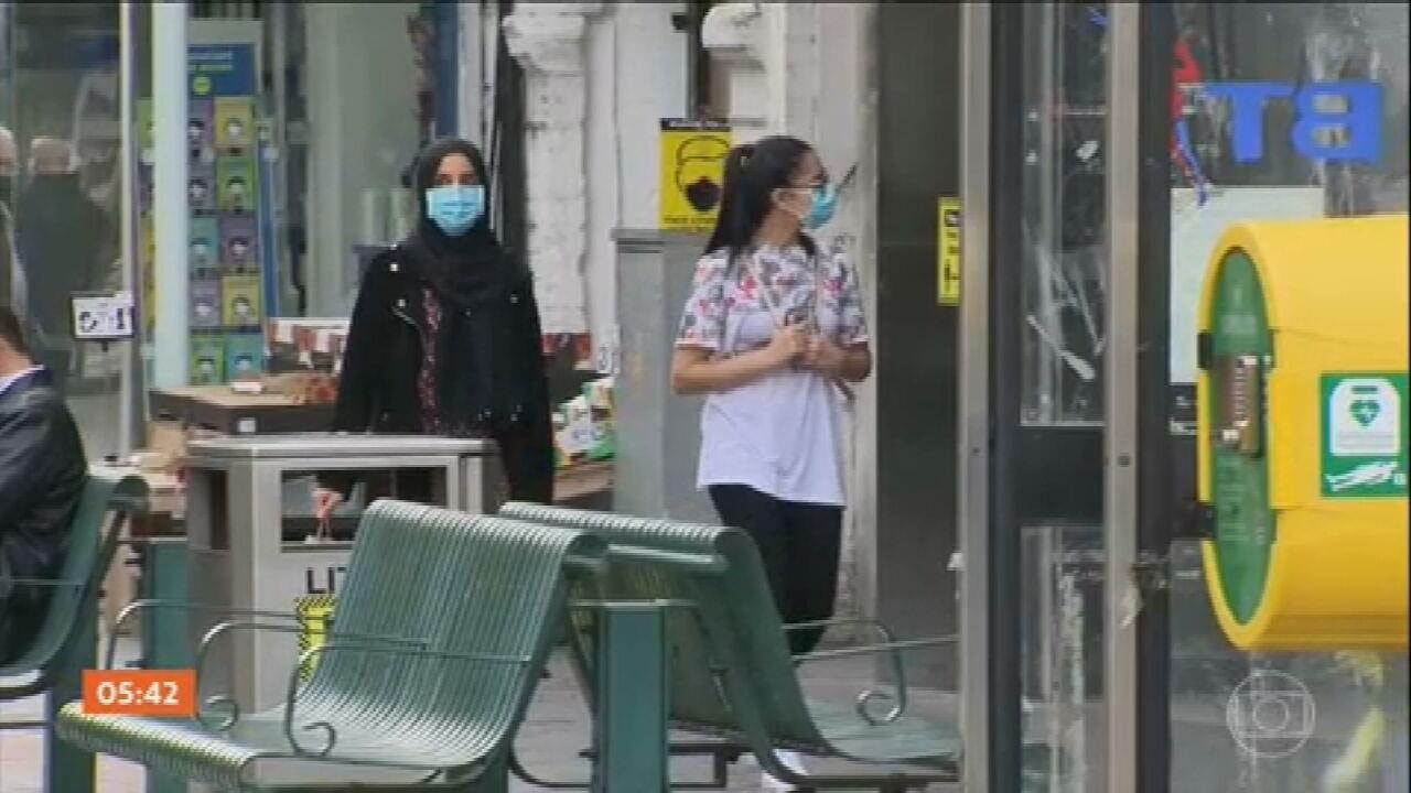 Covid-19: Governo britânico adota regras rígidas no controle da pandemia