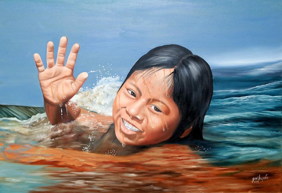 Obras de artistas mato-grossenses serão divulgadas em catálogo online — Foto: Angelo Varela / ALMT