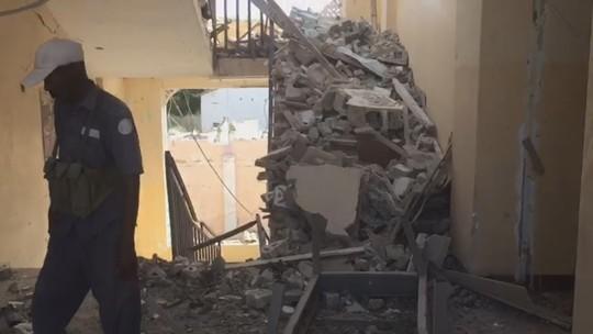 Instalações do Crescente Vermelho ficam destruídas após ataque na Somália; veja vídeo