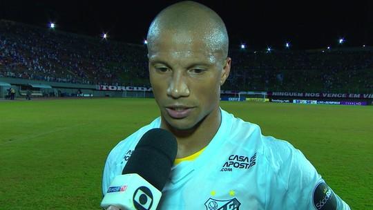 """Sánchez exalta partida do Santos contra o Bahia: """"Seria injusto não ganharmos os três pontos"""""""