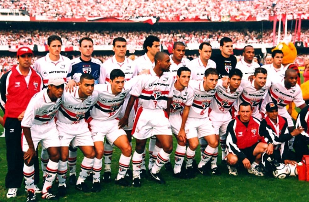 São Paulo de 2000, campeão paulista. Saudades desse time? (Foto: saopaulofc.net)