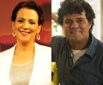 Ana Beatriz Nogueira e Felipe Camargo  | Divulgação
