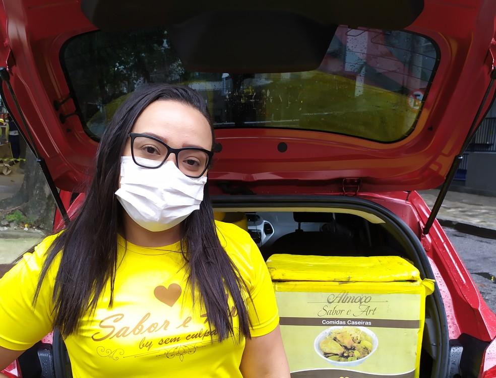 Aplicativo auxilia comerciantes locais do Rio a manterem vendas durante a pandemia — Foto: Divulgação