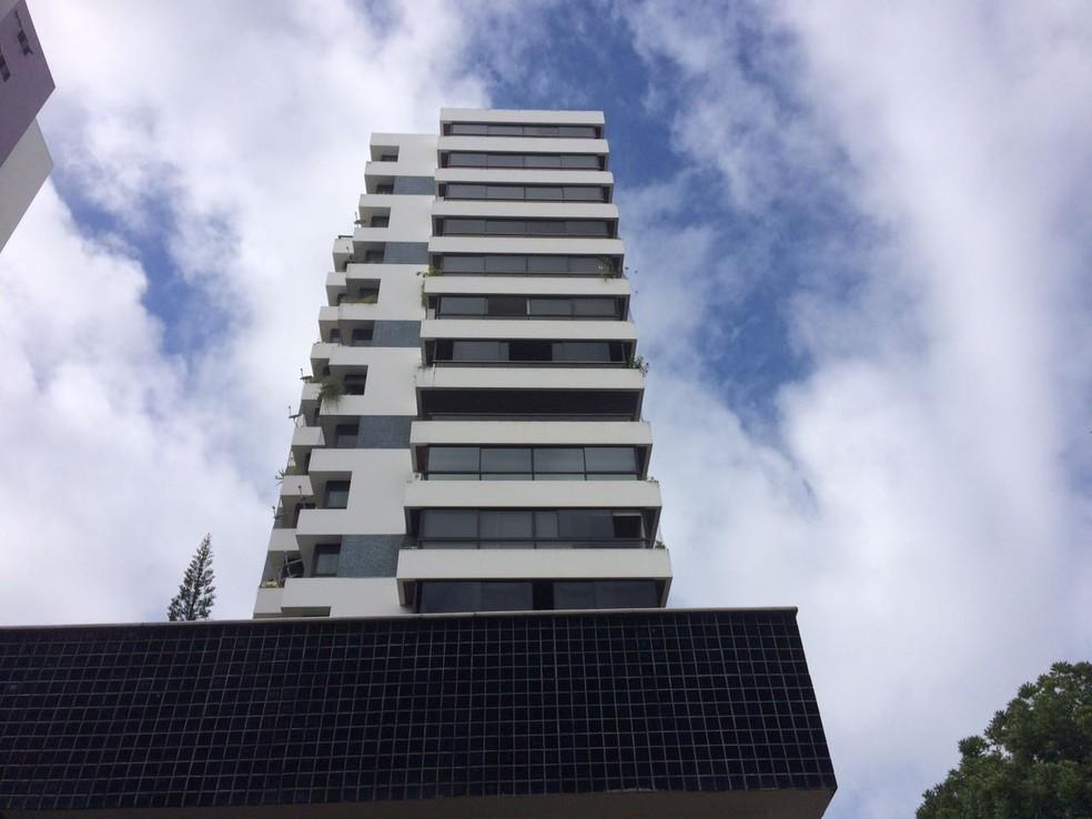 Apartamento onde ministro Geddel Vieira Lima mora, na capital baiana. (Foto: Natally Acioli)