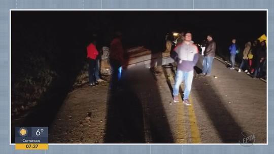 Motorista morre ao capotar carro na MG-167, em Cambuquira, MG