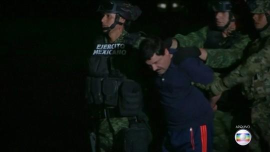 Megatraficante El Chapo terá que cumprir prisão perpétua nos EUA