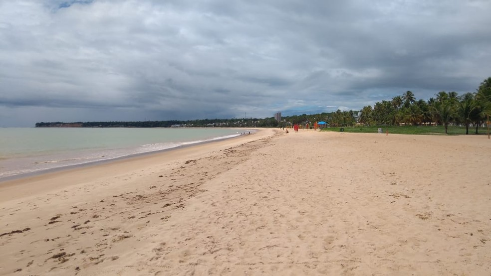 Praia do Cabo Branco, em João Pessoa — Foto: Julio Viana/Arquivo Pessoal