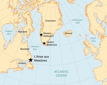 Vikings estiveram na América do Norte há exatamente 1 mil anos, diz estudo