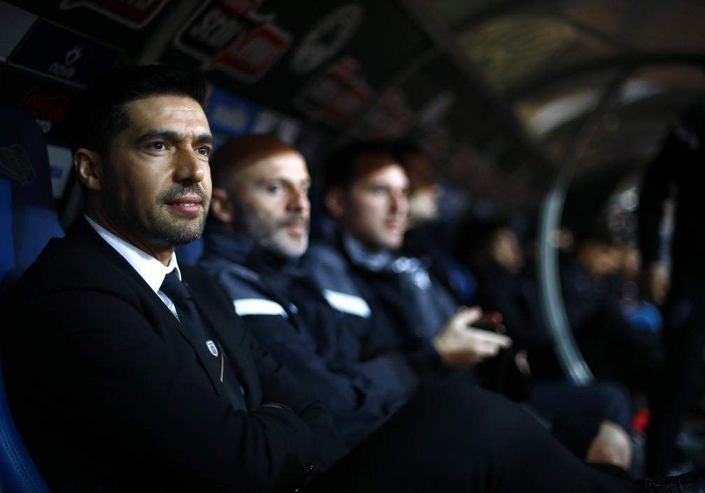Abel Ferreira agora se sentará no banco de reservas do Allianz Parque para comandar o Palmeiras — Foto: Getty Images
