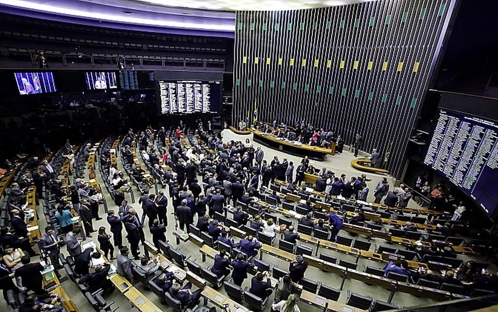 Plenário da Câmara dos Deputados, em Brasília (DF) (Foto: Agência Câmara)