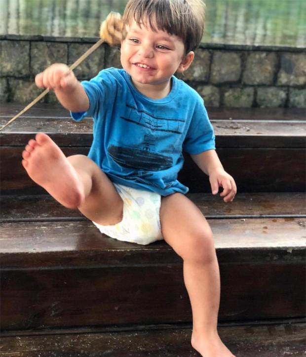Julio, filho de Bruna Hamú (Foto: Reprodução / Instagram)