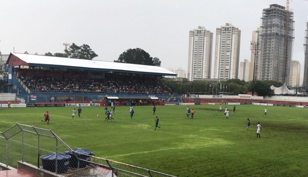 ABC e Santo André se enfrentaram nesta quarta-feira (Foto: ABC FC)