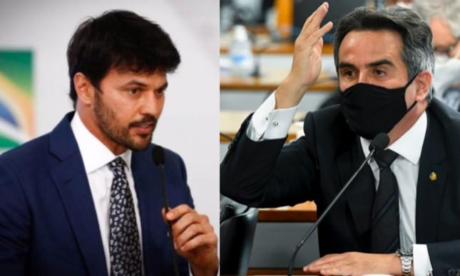 Fábio Faria e Ciro Nogueira