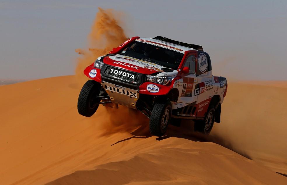 Fernando Alonso completou primeiro Rally Dakar da carreira em 13º — Foto: Reuters