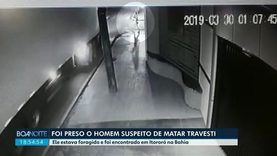 Caminhoneiro suspeito de matar travesti atropelada no Paraná é preso no sudoeste da Bahia