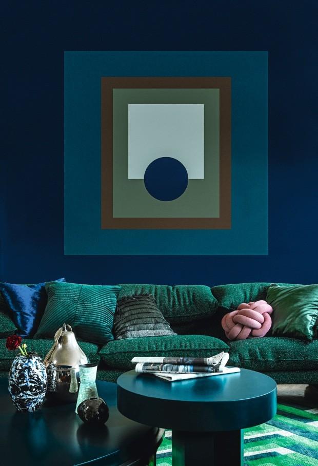 Saiba quais cores usar para deixar a casa aconchegante (Foto: Jonas Ingerstedt)