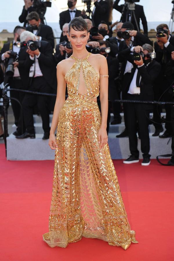 Luma Grothe no Festival de Cannes 2021 (Foto: Getty Images)