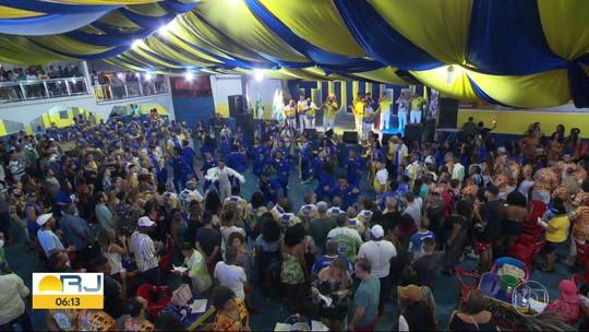Paraíso do Tuiuti apresenta o samba para o carnaval de 2019 no Rio