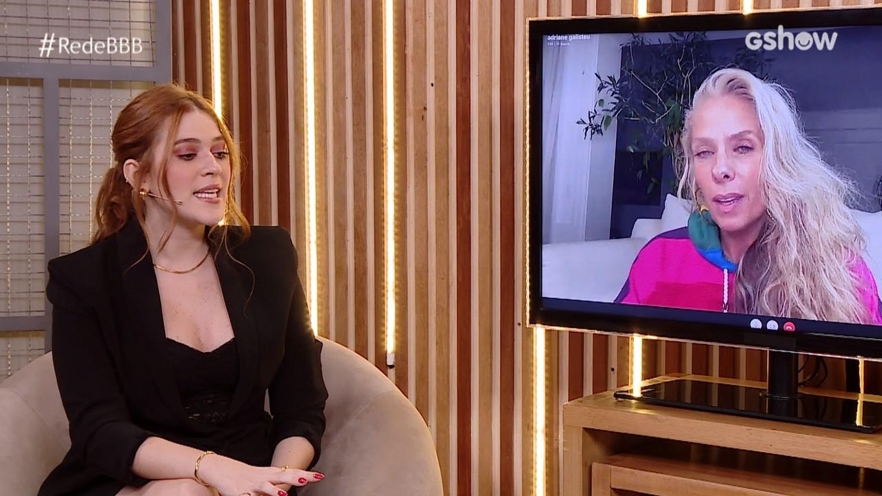 Bate-Papo BBB: Adriane Galisteu fala do jogo do Projota no BBB21