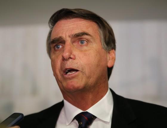 O deputado federal Jair Bolsonaro (Foto: Valter Campanato/Agência Brasil)