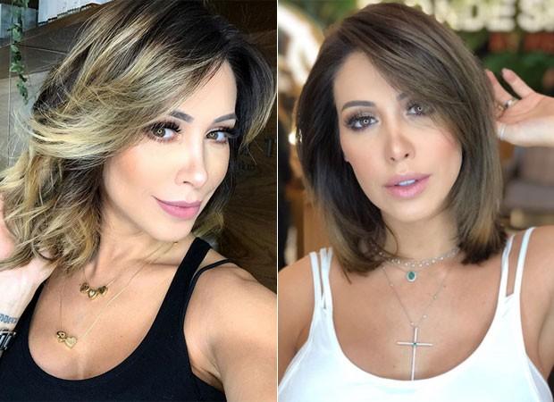 Bella Falconi muda visual (Foto: Reprodução)