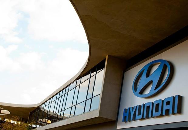 Unidade da montadora sul-coreana Hyundai na África do Sul (Foto: Divulgação)