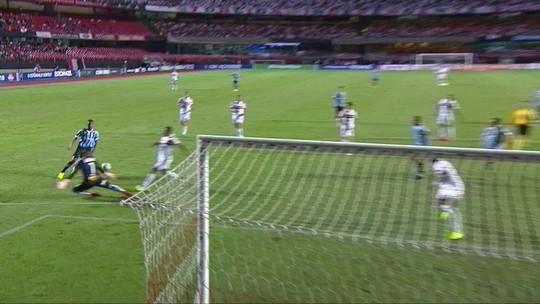 Grêmio cumpre objetivo de segurar São Paulo e depende de próprias forças por G-4