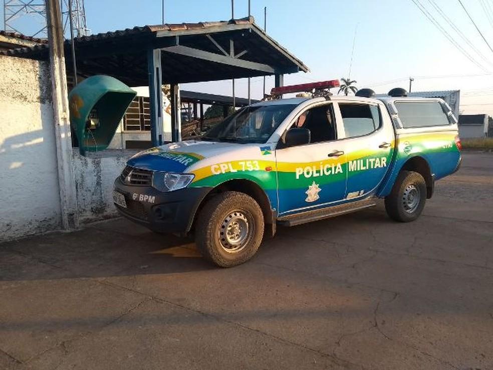 PM de Nova Mamoré não conseguiu localizar suspeito — Foto: PM/Divulgação