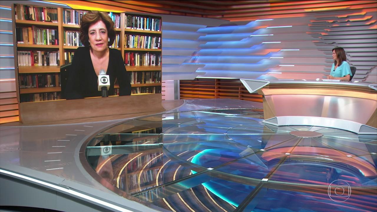 Miriam Leitão fala sobre a vacinação em massa e os efeitos na economia do Brasil